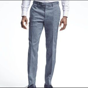 Banana Republic Slim Performance Linen Pants 33/30